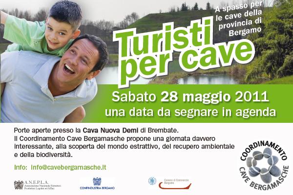 Turisti per cave 28-05-2011